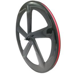2019 rodas de estrada de carbono china NGT um pedaço de 5 raios rodas 3k brilhante / matcher clincher para Shimano 9/10/11 Speeds hub BREAK SUPERFÍCIE 5 raios de qualidade superior da roda