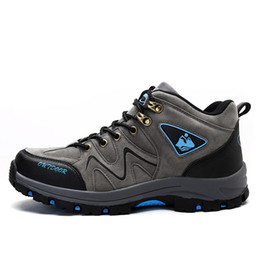 Wholesale i shoes boots - Original Men Camping Training Outdoor Sport Trail Hiking Shoes Waterproof Mountaineer Ultra Hike I Fastpack Medium Cut Boots