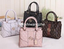 Wholesale Pu Soft Materials - n women shoulder bag pu leather brand Handbag SENA bag Letter printing PVC material handbag