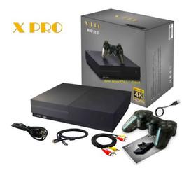 console de videogame portátil android Desconto Suporte de 64 Bits de 4K Saída HDMI Hdmi Console de Vídeo Game Retro 800 Clássico Família Videogame Retro Game Console Para TV X PRO