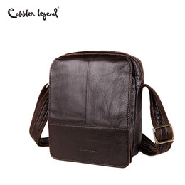 5c5a20193d1c ... Cobbler Legend Brand 100% Genuine Leather Mens Bag Shoulder Bags  Messenger For Men Business Cross  GZCZ Genuine Leather Mens Bags Male  Crossbody ...