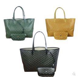 2019 atmosphäre großhandel Mode Neueste Mutter Paket Hohe Kapazität Designer Totes Taschen Einkaufstasche Handtasche Berühmte Marke Pu-leder 2 teile / satz 46 cm und 55 cm