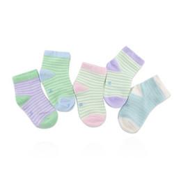 Wholesale Functional Fiber - Newborn baby socks bamboo fiber baby socks children functional 5 pairs of child socks boys and girls spring and autumn.