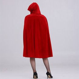 Wholesale red riding hood - Holiday Costumes Halloween Little Red Riding Hood Female Costume Nightclub Queen Dress And Game Cosplay Costume