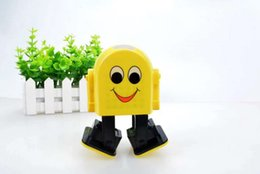 Wholesale Yellow Speaker - New small yellow guy dancing bluetooth speaker swing card intelligent voice robot sound