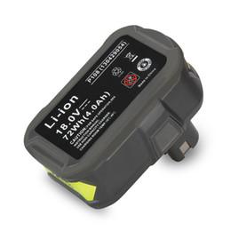 Wholesale 18v Tool Battery - pack New 18V 4000mAh Li-Ion For Ryobi Hot P108 RB18L40 High Capacity Rechargeable Pack Power Tool Battery Ryobi ONE+