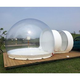 Wholesale housing bubble - SGODDE Inflatable Eco Home Tent DIY House Luxury Dome Camping Cabin Lodge Air Bubble