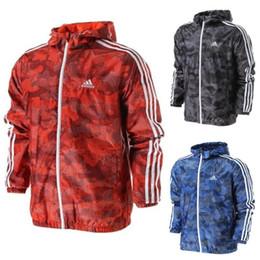 Wholesale designer long coats men - Luxury Mens Jacket Coat Autumn Windrunner Jackets Brand Designer Sports Windbreaker Thin Casual Jacket Men Tops Clothing S-2XL
