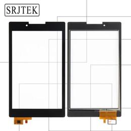 Lenovo a7 touch en Ligne-Srjtek Pour Lenovo Tab 2 A7-30 A7-30DC A7-30HC A7-30TC Écran Tactile Digitizer Capteurs Verre Panneau Tablet PC Pièces De Rechange