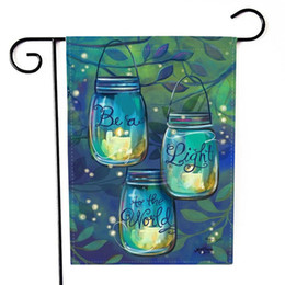 Bandiera di fiori all'aperto coperta Home Decor di lettere di corridore di tavolo da giardino Hellow primavera cheap runners flags da bandiere corridori fornitori