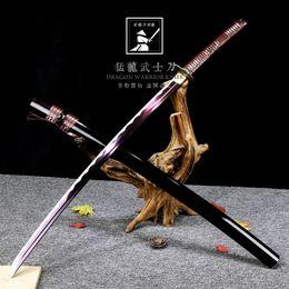 Arti marziali samurai, spada Longquan, arma fredda stile giapponese, Han Jian, senza lama. da