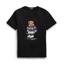 2019 jersey di bambù 2018 nuova T-shirt Uomo Donna Oversize Crane Pattern Modelli allentati Collo in cotone a maniche corte Tees Tops for Lovers Moda T-shirt da uomo