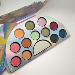 Wholesale rainbow wear - Correct Color Life's A Festival Eyeshadow Palette Rainbow Peace Love Eye Shadow 13 color Palette
