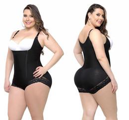2019 femme butt shapers 6XL Plus La Taille Femmes Body Shapers Shapewear Underbust Corset Taille Cincher Trainer Bodys Slim Butt Lifter Shapers CPA1123 femme butt shapers pas cher