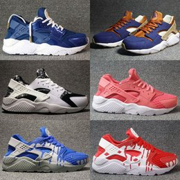 Wholesale Huaraches Basketball Shoes - 11 Color Men air Running Shoes Huaraches Sports Shoes High Quality Air woman huarache 4 Basketball Shoes Huraches ultra Outdoors Sneakers