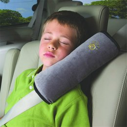 Wholesale Car Safety Seat Auto - Hot Sale Baby Children Car Auto Safety Strap Car Seat Belts Pillow Shoulder Protection Support Car Interior Accessories
