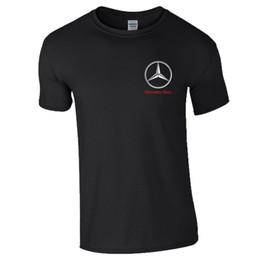 2019 motogp t shirts Mercedes Logo T Shirt AMG Motorsport MotoGP Racing F1 regalo Mens Ladies Top Divertente spedizione gratuita Unisex Casual tee top motogp t shirts economici