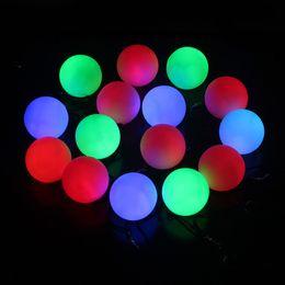 2019 cambio de color de escenario bombilla led Colorido RGB Bombilla LED Etapa de luz Lámpara de fiesta Disco Cambio de color POI Lanzar bolas Profesional Belly Dance F20172979 cambio de color de escenario bombilla led baratos