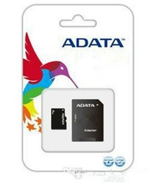 Wholesale micro sd memory 64gb - 100% Real Original Quality ADATA 4GB 8GB 16GB 32GB 64GB 128GB Class10 Micro SD TF Memory Card SD Adapter Retail Package