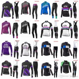 LIV ORBEA team Cycling long Sleeves jersey (bib) pants sets Spring Autumn  Racing Mountain Bike Cycling jersey Quick Dry Comfortable D2021 da9af5332