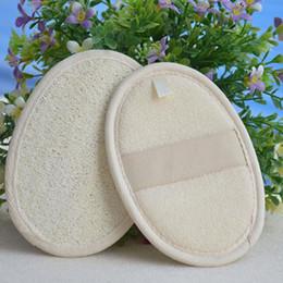 spazzole esfolianti Sconti New Natural Esfoliante Loofah Loofa Environmental Bath Brush Bagno Skin Shower Massage Spa Scrubber Shower Brush