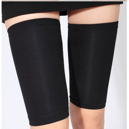 Wholesale thigh slimming wraps - Women's Sauna Slimming Thigh Shapers Belt trimmer Compression Wrap Items Gear Stuff Accessories 2 colors YYA1133