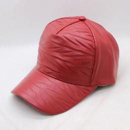 78f37346403 BING YUAN HAO XUAN Brand PU Spring Summer Autumn Men Women Couple Baseball  Cap Street Style Cool CAPS Hats Bone SnapBack