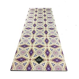 Wholesale Natural Environmental - 183cm*61cm*3.5MM Natural Rubber Environmental Protection Comfortable Non-Slip Lose Weight Exercise Mat Fitness Yoga Mat