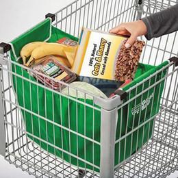 2019 magasin d'épicerie Écologique Grab Epicerie Shopping Pliable Tote Organisateur De Stockage Réutilisable Chariot Supermarché Grande Capacité Sac Gratuit DHL 0527 promotion magasin d'épicerie