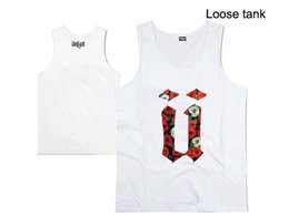 Wholesale tank tops styles for men - 2016 new style casual hip hop O-neck 100% cotton unkut supply men's tank tops handsome for men vest plus size XXXL