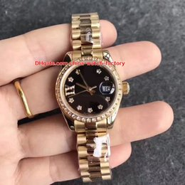 Wholesale sapphire diamond watches - 8 Color Luxury High Quality Watch 28mm Datejust Diamond 279161 178343 279174 279160 279173 Mechanical Automatic Ladies Women's Watches