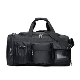 New Men Fitness Bags Training Sport Bags For Gym Women Hand Multifunctional  Luggage Pouch Hand Travel Duffle Large Capacity 545638237e