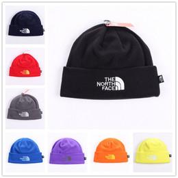 Unisex Brand Hat The North Polar Fleece Winter Beanie Skull Caps for Men  Women Outdoor Skiing Snood Hats Warm Hip Hop Cap Ear Muff 8 Colors 6610b9d853b7