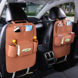 mayoristas de paquetes de alimentos Rebajas Almacenamiento FUNIQUE 2018 Nuevo asiento de coche del asiento del bolso colgar bolsas de coches Volver Bolsa de seguridad para niños Volver caja de almacenaje de múltiples funciones