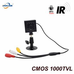 Système de sécurité à domicile en Ligne-HQCAM 1000tvl Mini Camera 1 / 3''CMOS Sensor Système de sécurité à domicile Surveillance CCTV Camera Vision nocturne 10pcs 940nm IR LED Indoor