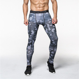 b703e4c0f9 Camouflage Compression Pants Running Tights Men Soccer Training Pants  Fitness Sport Leggings Men Gym Jogging Trousers Sportswear