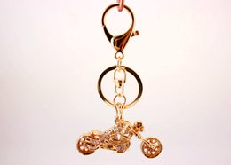 Wholesale Motorcycle Ornaments - Creative Ornaments Key Chain Soul Chariot Motorcycle Key Chain Bag Hanging Deduction Keychain For Women and Men Gift Free DHL D993Q