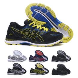 Wholesale lightweight running shoes - 2018 Asics Gel-Nimbus 20 Men Running Shoes Original Cheap Jogging Sneakers Lightweight Sports Shoes Free Shipping Size 40-45