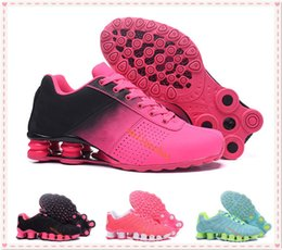 Wholesale Cushion Flooring - Fashion Women Classic Shox Tlx Avenue Deliver Oz Running Shoes Sports Trainer Cushion Shox Chaussures Femme Sneakers