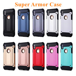 Wholesale iphone protection covers - For iPhone X 8 7 Plus Case Hybrid Armor Case For iPhone 6 6s Plus Super Protection Cover for iPhone 5 5s se