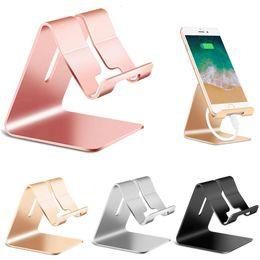 2019 tisch stehen für ipad Aluminium Handy Schreibtisch Tischhalter Tischtelefon Standhalterung Tischhalterung für iPhone iPad Tablet Universal rabatt tisch stehen für ipad