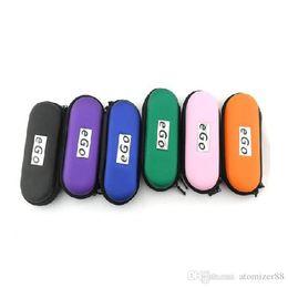 2019 ego starter kit tasche EGO Zipper Case E-Zigarette e Cig Tragbare Tasche Ego Bag Suit Für elektronische Zigarette Vaporizer Vape Pen Double Single Starter Kit günstig ego starter kit tasche