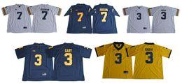 Wholesale cheap american football shirts - Mens 2018 Michigan Wolverines #3 Rashan Gary 7 Khaleke Hudson College team American Football Sports Jerseys Shirts Cheap Stitched Embroidery
