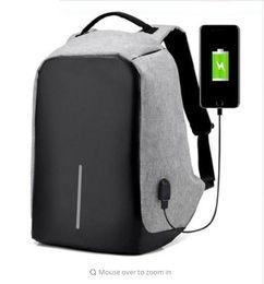 Wholesale Usb Single - Men Anti Theft Backpack USB Rechargeable Crossbody Women Bags Boys Girls Single Shoulder Bag Backpacks c347