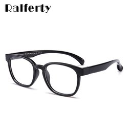 b3f8e1ae89 anteojos para niños Rebajas Ralferty 2018 Kids Unbreakable Flexible Square Eyeglass  Frame Square Miopía gafas graduadas