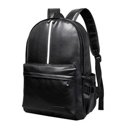 b95ebae4157d Vbiger Men Women PU Leather Backpack Large-capacity School Trendy Travel  Backpacks Casual Daypack Stylish Student Book Bag