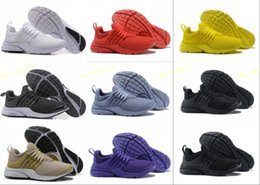 Wholesale hot black tops - 2018 Hot Presto 5 Ultra BR QS Black White All Yellow Purple Red Grey Running Shoes for Women Men Top Prestos V Casual Sports Sneakers 36-46