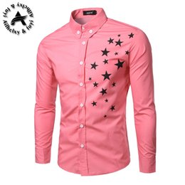 fashion dressing style men shirt Coupons - Fashion Men Dress Shirts Lapel Long-Sleeve Shirt with Stripes Assorted Colors Style Slim Shirt for Men