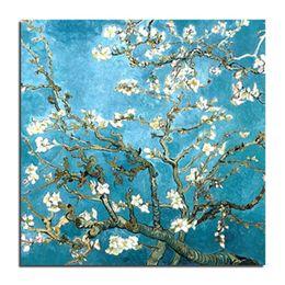 Wholesale Art Paintings Flowers - Van Gogh Flower DIY Diamond Embroidery Needlework Square 3D Diamond Painting Fashion Home Decor Cross Stitch Painting