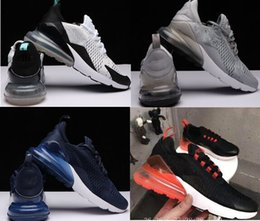 Wholesale Free Style Soccer - 2018 270s Mens air Running Shoes sapphire 2018 color new style Sports Shoes men shoes sneakers Athletic Trainers Free Shipping